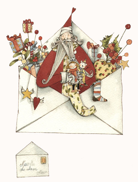 christmas 2012, character for Gisela Graham ltd., Maria Cristina Lo Cascio